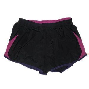 NIKE Women's Running Shorts | Purple & Black